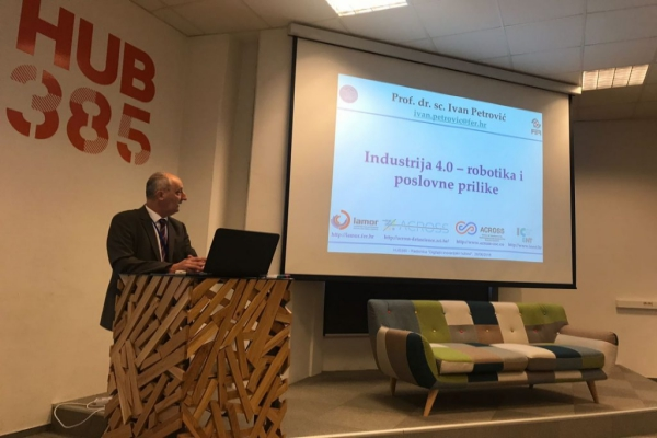 Workshop DIGITAL INNOVATION HUBs held on 28 and 29 June 2018 in HUB385