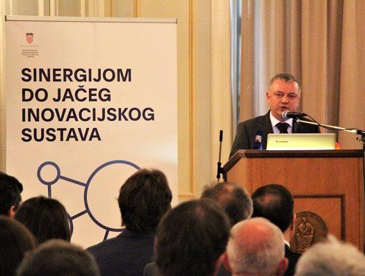 """Održana konferencija """"Tematska inovacijska vijeća – karika koja nedostaje"""", Zagreb, 11. prosinca 2018."""