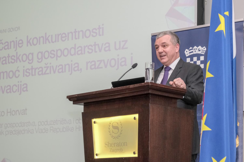 Inovacije su ključni pokretač gospodarskog rasta Hrvatske, zaključak je konferencije održane 11. ožujka u hotelu Sheraton