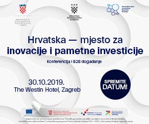 Najava Konferencije: Hrvatska-mjesto za inovacije i pametne investicije